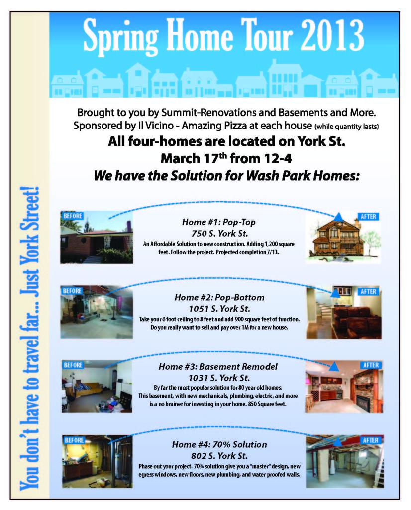 Summit Renovations home tour denver co